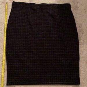 Max studio elastic waist skirt